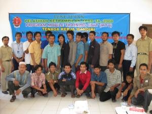 Pelatihan mebelair di Yabima bekerjasama dengan BLK Yogyakarta