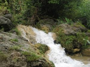 Potensi Air di Terjunan Slemret Playen Gunungkidul